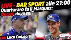 MotoGP: LIVE Bar Sport alle 21 con Cadalora - Quartararo fa il Marquez: Ducati dove sei?