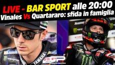 MotoGP: LIVE Bar Sport alle 20:00 - Vinales Vs Quartararo: è sfida in famiglia