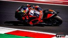 MotoGP: Dovizioso in azione a Misano con l'Aprilia: il video della due giorni di test