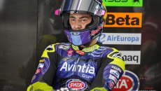 MotoGP: Bastianini said he was lucky his airbag exploded at Mugello after warmup lap incident