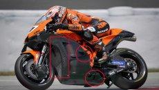 MotoGP: KTM tests a 'Swiss cheese' type fairing to improve aerodynamics