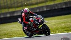 MotoGP: Espargarò e l'Aprilia si prendono la Fp1 a Barcellona. Morbidelli 2°, Rossi 15°