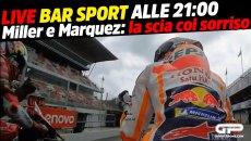 MotoGP: LIVE Bar Sport alle 21:00 - Miller e Marquez: la scia col sorriso