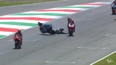 """MotoGP: Lorenzo: """"Bastianini non può perdere la concentrazione in quel modo"""""""