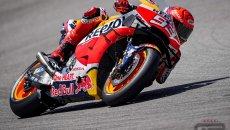 MotoGP: Marquez torna Re del Sachsenring: 1° in FP1 su Quartararo. Rossi 20°