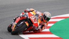 """MotoGP: Marquez: """"Anche se fossi al 100% oggi faticherei più del 2019 per vincere"""""""