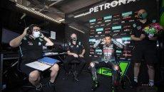 """MotoGP: Morbidelli deluso: """"le possibilità di fare una buona gara sono pari a zero"""""""