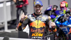 "MotoGP: Oliveira: ""La KTM non è più la bestia del 2019, Pedrosa ci ha aiutato"""