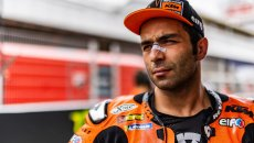 """MotoGP: Petrucci: """"Se non rimarrò in KTM so di aver dato tutto quello che avevo"""""""