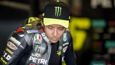 MotoGP: Rossi rues wasted opportunity after crashing out of Catalan Grand Prix with lack of grip