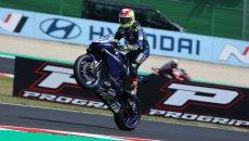 SBK: SS600 Gara 1: Yamaha fa 100 con Aegerter, superlativo Bernardi al 2° posto