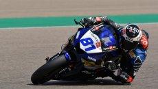SBK: SS600 FP1: Gonzalez precede Fuligni e Caricasulo, 7 piloti in 1 decimo