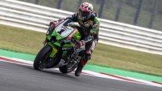 "SBK: Test Kawasaki a Navarra, Rea: ""Pista nuova ed una evoluzione per la Ninja"""