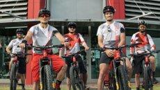 SBK: Misano: Chaz Davies pedala in ricordo di Nicky Hayden