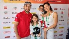 SBK: Clère salva Barrier dalle fiamme e vince il Trofeo Delhalle