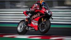 SBK: Ducati all'attacco nella FP3 di Misano: 1° Rinaldi, 2° Redding