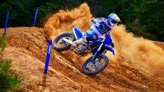 Moto - News: Yamaha YZ 125 e YZ 250 2022: le motocross racing si rinnovano