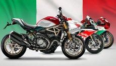 Moto - News: Dalla Panigale alla Vespa, quando la moto veste il tricolore
