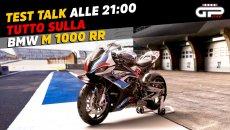 Moto - News: LIVE Test Talk alle 21:00 - Tutto sulla BMW M 1000 RR