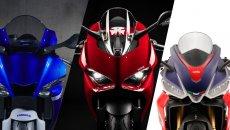 Moto - News: Mercato: le cinque moto sportive più vendute del 2021