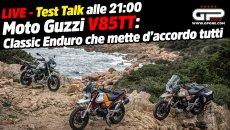 Moto - News: LIVE Test Talk alle 21:00 - Moto Guzzi V85 TT: Classic Enduro per tutti