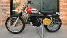 Moto - News: Usato per pochi: la Husqvarna Viking di Steve McQueen torna all'asta