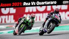 MotoGP: La sfida infinita: Rea contro Quartararo, Superbike contro MotoGP ad Assen