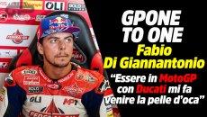 "MotoGP: Di Giannantonio: ""Essere in MotoGP con Ducati mi fa venire la pelle d'oca"""