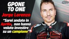 """MotoGP: Lorenzo: """"Sarei andato in Aprilia, non hanno voluto investire su un campione"""""""
