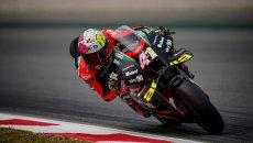 "MotoGP: Aleix Espargarò: ""Dovizioso wasn't competitive with the RS-GP"""