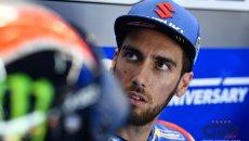 """MotoGP: Alex Rins: """"senza l'abbassatore posteriore Suzuki perde quattro decimi"""""""