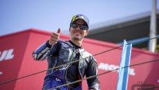 """MotoGP: Vinales: """"Non voglio fermarmi nel 2022, ma una Casa che mi dia fiducia"""""""
