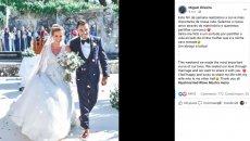 News: Fiori d'arancio in casa Oliveira: Miguel ha sposato Andreia