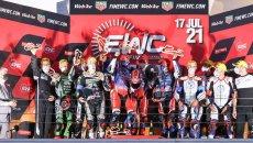 SBK: F.C.C. TSR Honda vince la 12 Ore di Estoril EWC: Kawasaki leader nel mondiale