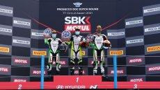SBK: SSP 300: Huertas vince in una Gara 1 ricca di cadute: solo 26 al traguardo