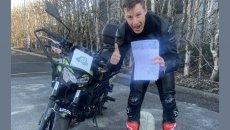 SBK: Non ci posso credere: Jonathan Rea ha preso la patente per la moto!