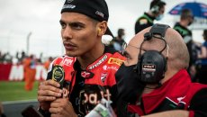 """SBK: Rinaldi: """"I can't win two races and finish behind like today"""""""