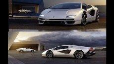 Auto - News: Lamborghini Countach 2022: arrivano altre foto - VIDEO