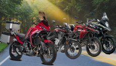 Moto - News: Moto Morini X-Cape: le rivali? TRK 502X, CB500X e V-Strom 650