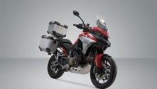 Moto - News: Ducati Multistrada V4: accessori da viaggio di SW-Motech