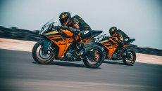 Moto - News: KTM RC 125 e 390 2022, ecco le novità delle piccole sportive