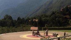 Moto - News: Moto Guzzi V100: foto spia della crossover da 120 CV
