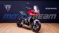 Moto - News: Triumph Tiger Sport 660, ecco le foto spia della versione definitiva
