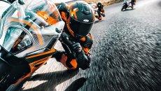 Moto - Test: Verso la prova: KTM RC390 2022, la piccola sportiva fa sognare in grande