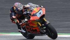 Moto2: Gardner detta il passo nella FP2, 2° Ogura, 6° Dalla Porta