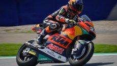 Moto2: I rookie dettano legge in Austria: 1° Raul Fernandez, 2° Ogura