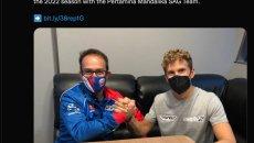 Moto2: Gabriel Rodrigo debutta in Moto2 con il team SAG nel 2022