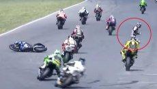 MotoAmerica: Gagne cade ma vince la decima gara consecutiva di MotoAmerica a Brainerd