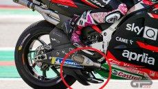 MotoGP: LA FOTO - Aprilia raddoppia i cucchiai sul bagnato