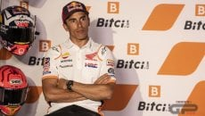 """MotoGP: Marquez: """"Non ho niente da perdere né da vincere, lavoro per il 2022"""""""